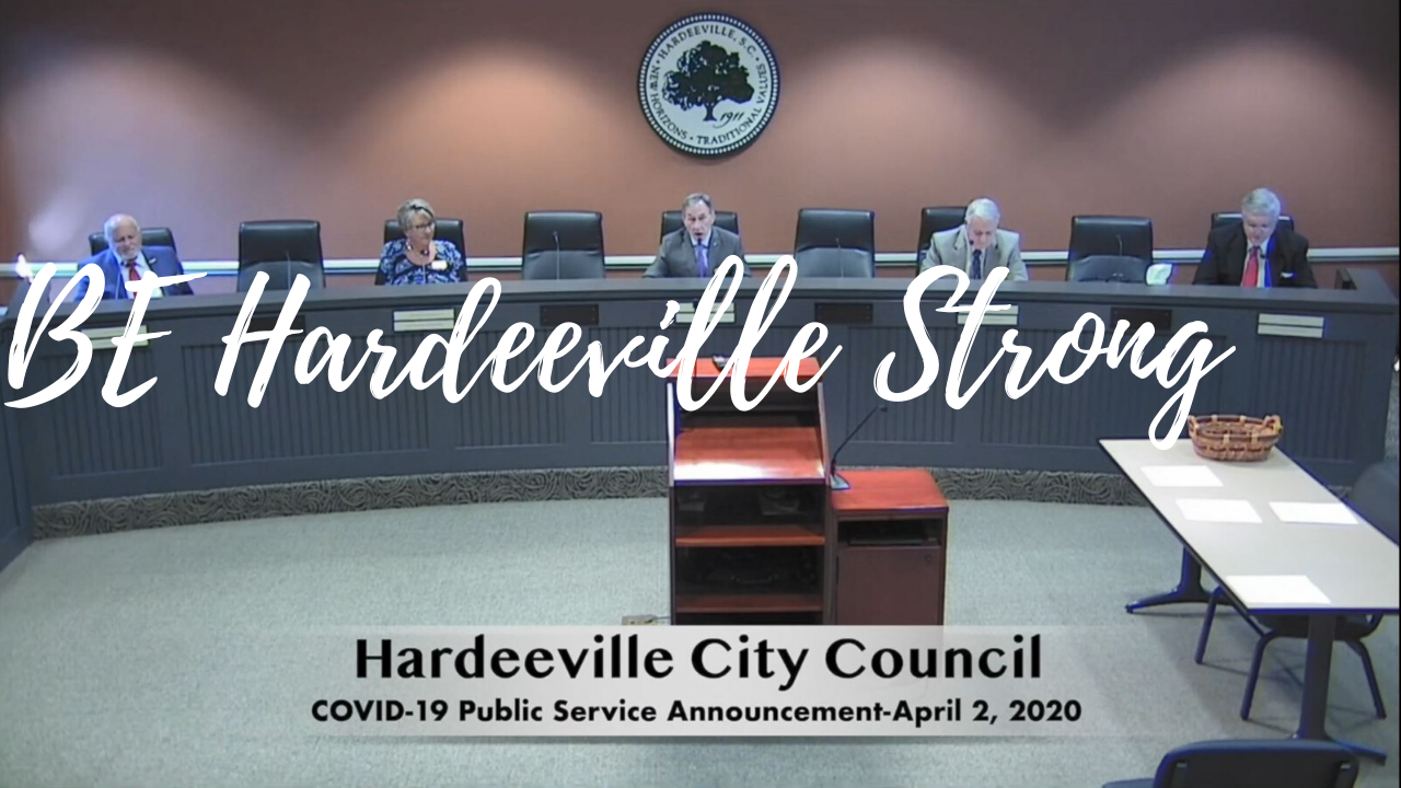 Be Hardeeville Strong